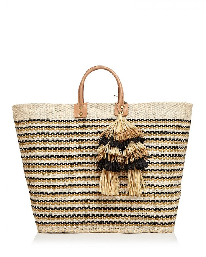 Martinique Straw Tote