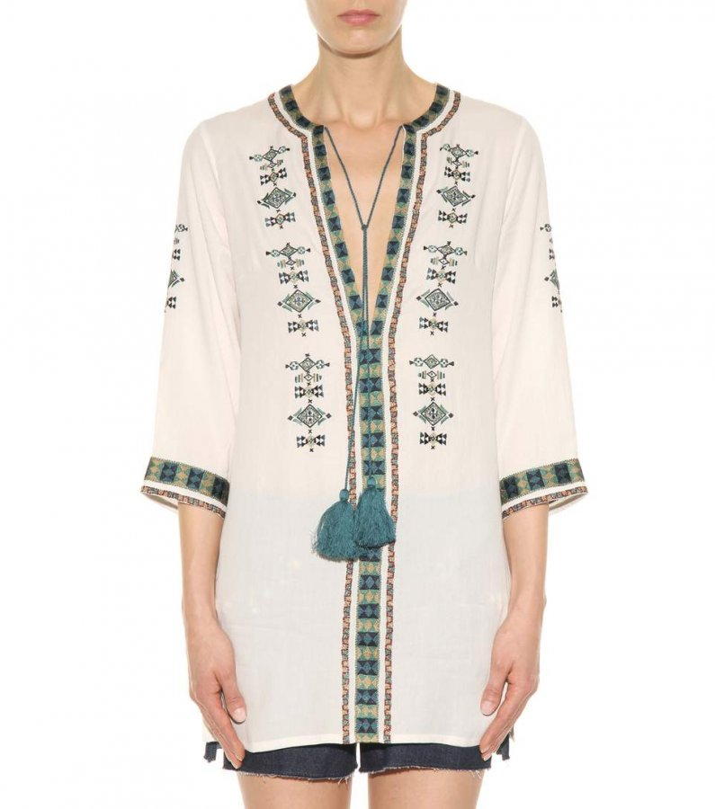 Aztec tunic dress