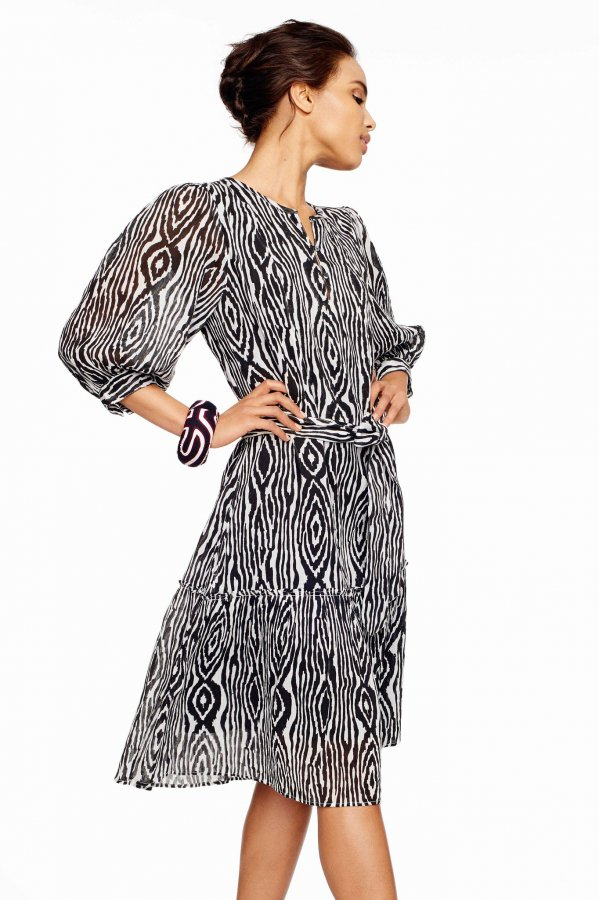 Softly Printed Dress