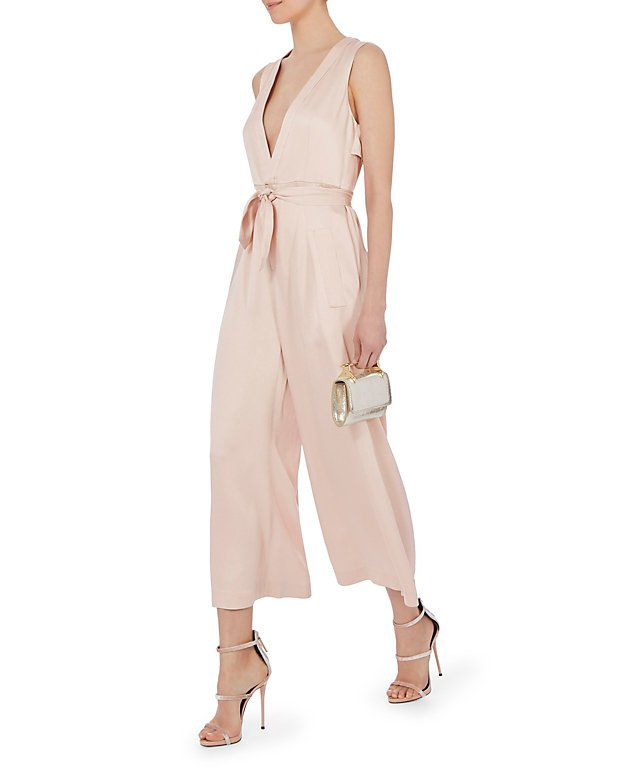 Connie Satin Crepe Jumpsuit