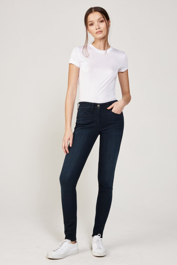 W3 High Rise Channel Seam Skinny