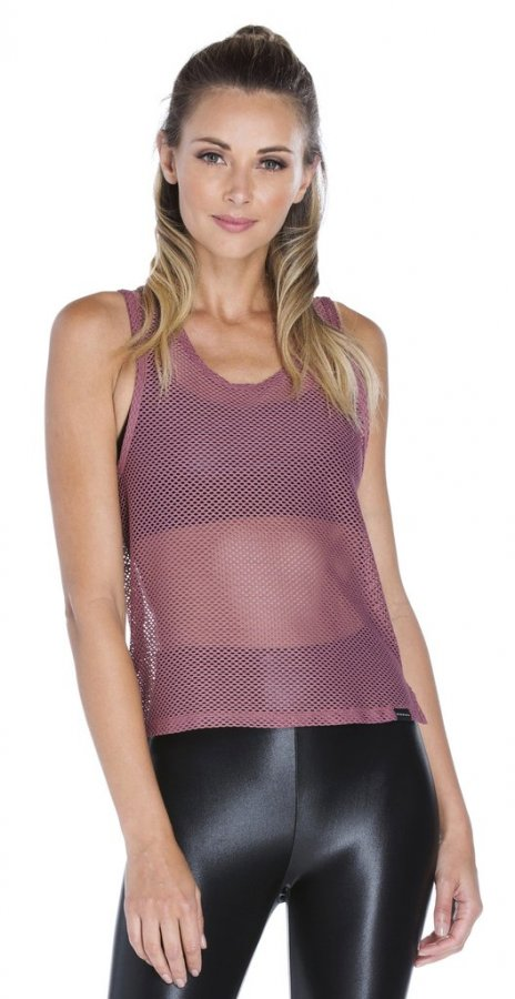 Crescentic Open Mesh Top
