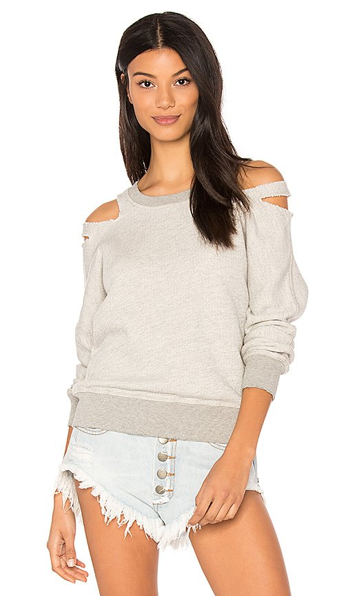 Minerva Cut Out Sweatshirt