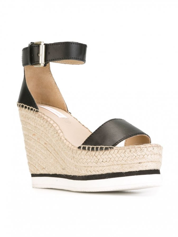 \'Glyn\' wedge sandals