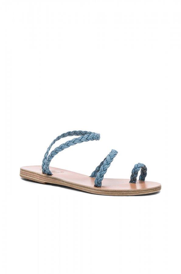 Denim Eleftheria Sandals