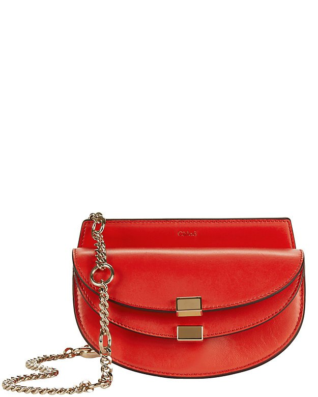 Georgia Nano Leather Crossbody