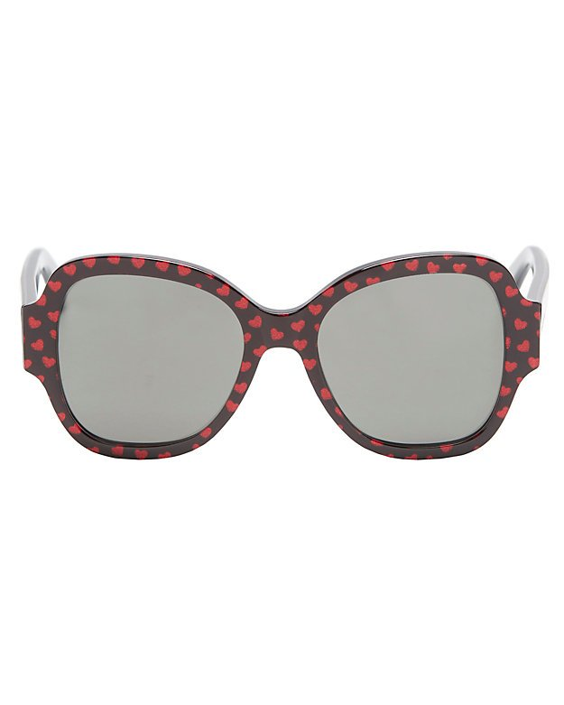 Heart Pattern Sunglasses