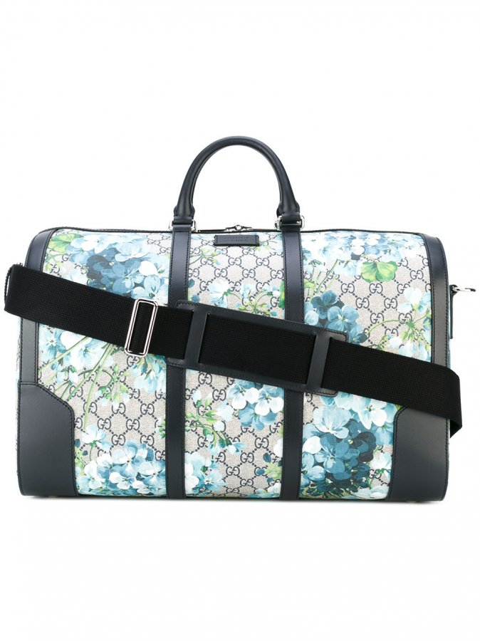Blooms GG Supreme duffle bag
