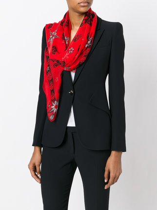 Skull and Star Scarf
