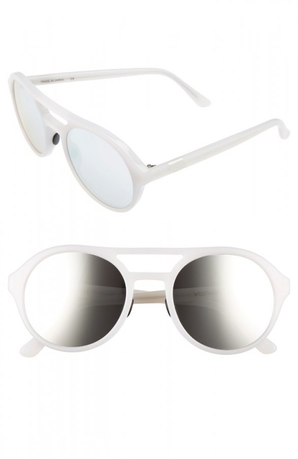 Olympus Mons 54mm Aviator Sunglasses