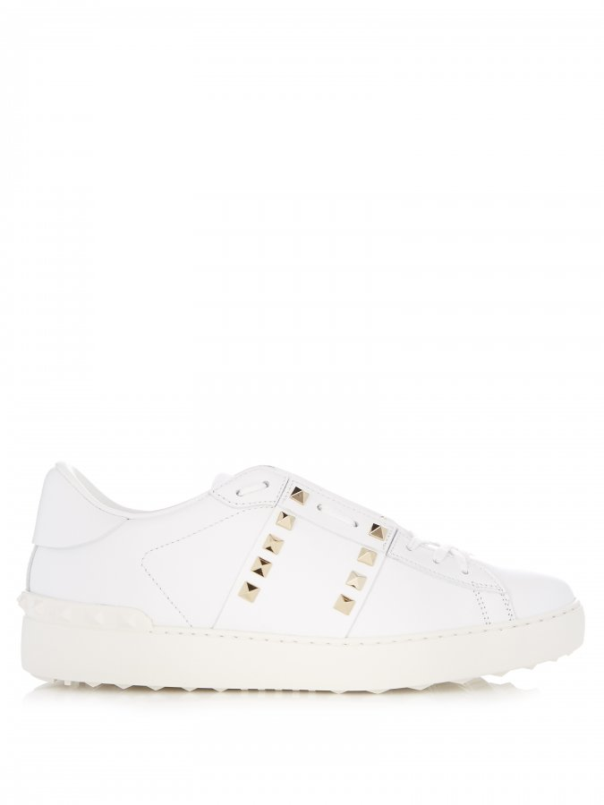 Untitled #11 low-top leather trainers