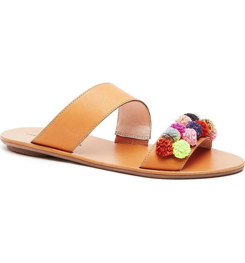 Clem Embellished Slide Sandal