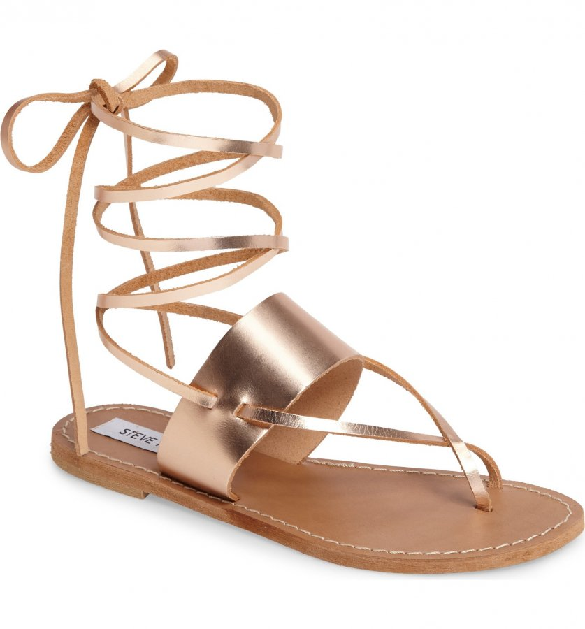 Bianca Lace-Up Sandal