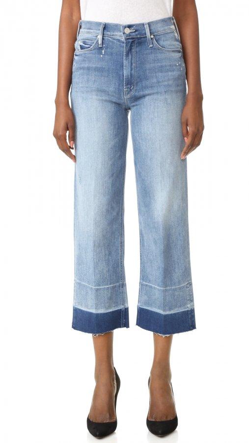 Undone Hem Maverick Jeans