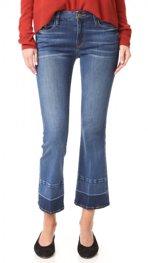 Le Crop Mini Boot Cut Jeans