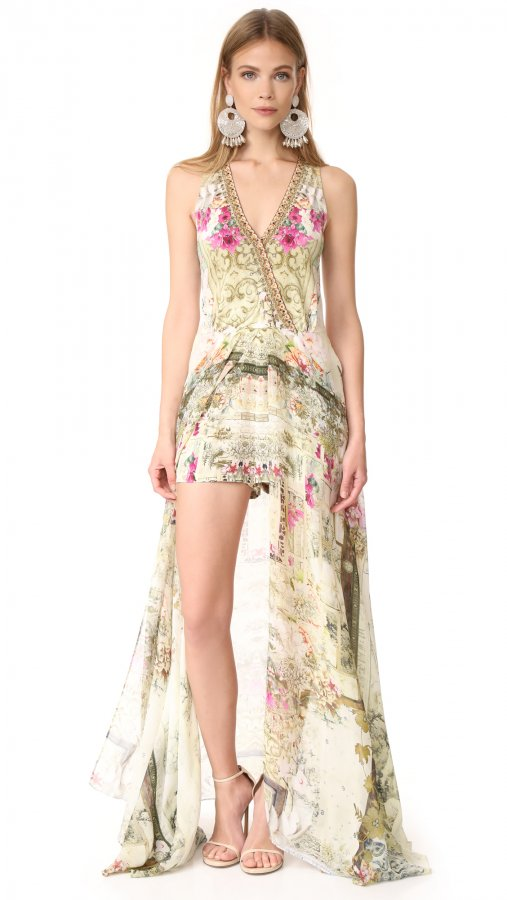 Girls in the Garden Wrap Romper