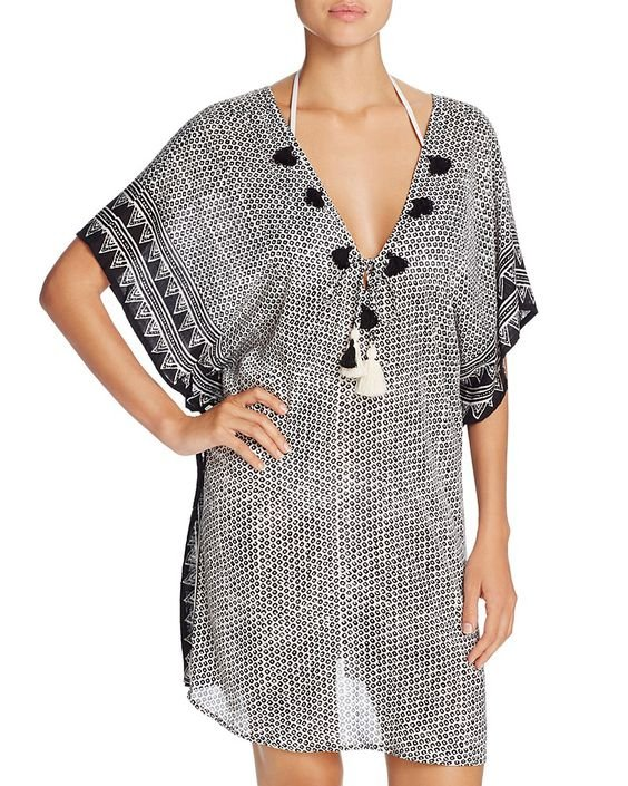 Positano Caftan Swim Cover-Up