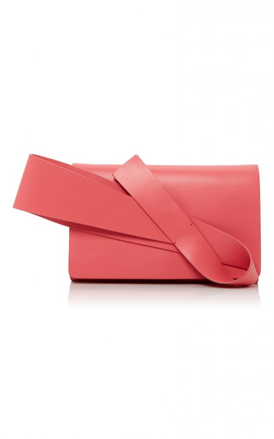 Flamingo Pink Orchid Evening Clutch