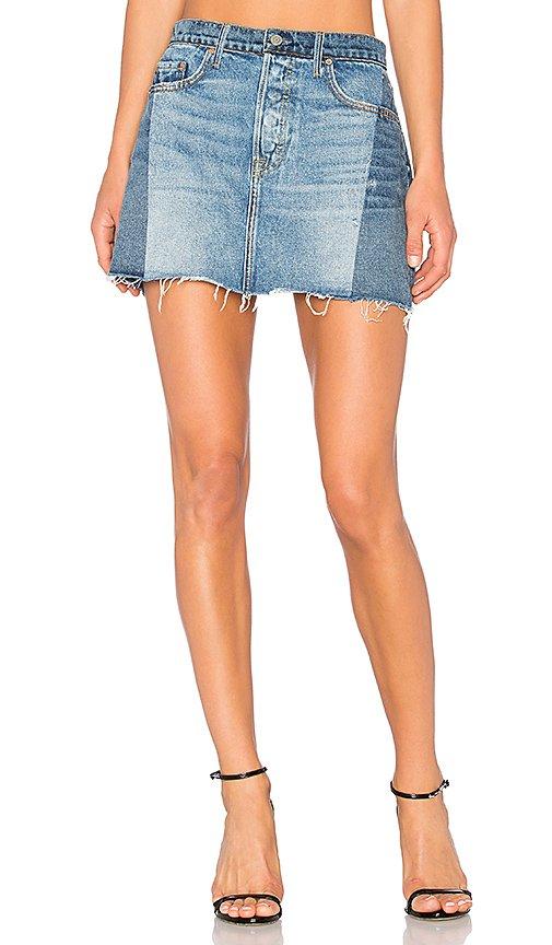 Claudia Denim Mini Skirt