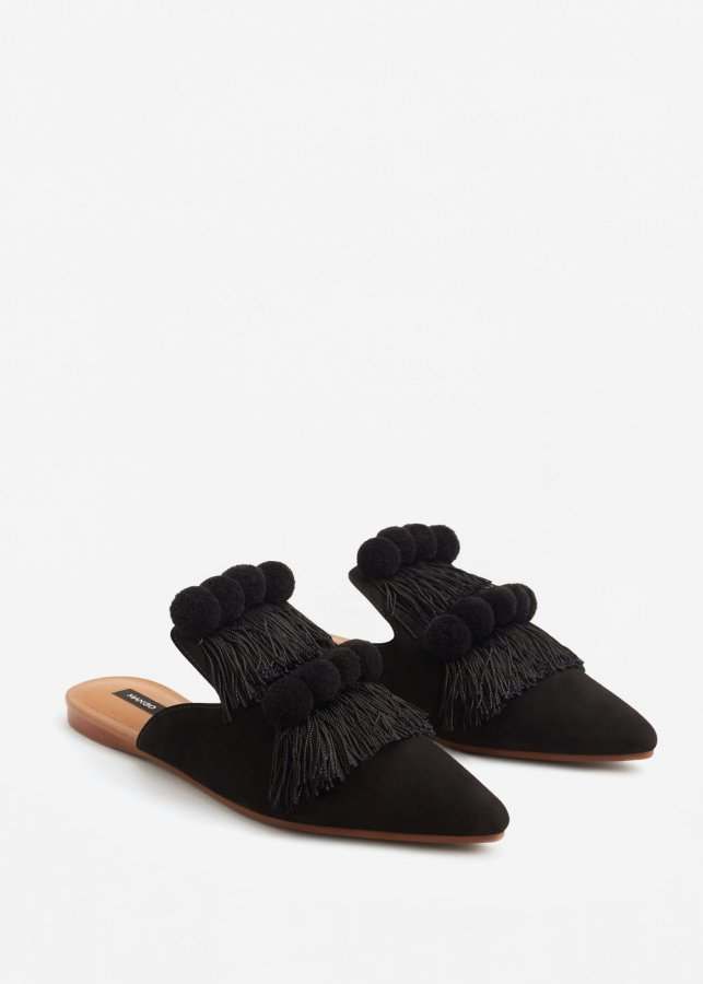 Fringed Leather Shoes