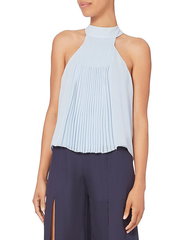 Blair Pleated Top