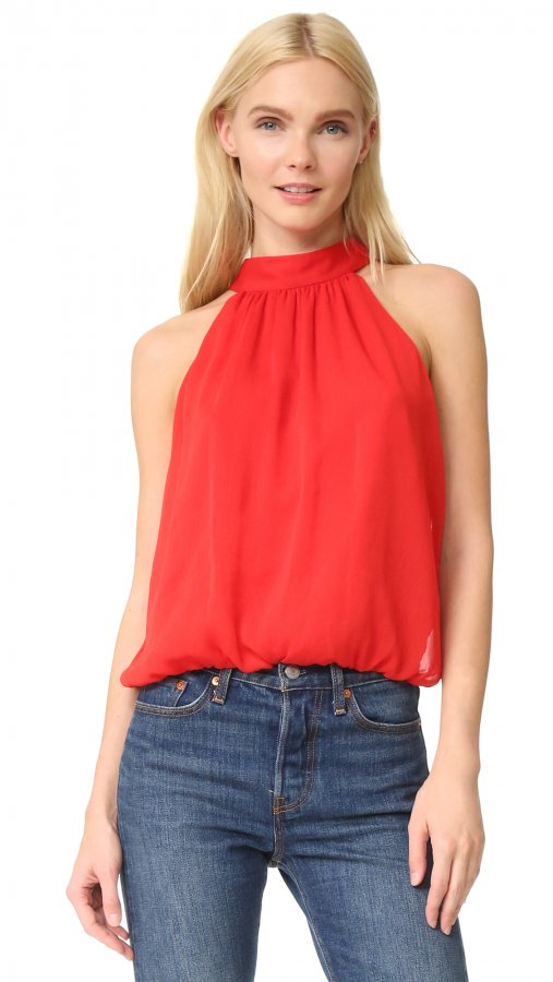 Maris Gathered Halter Top