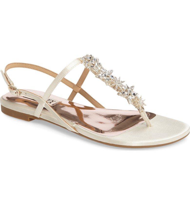 Tate Crystal Sandal