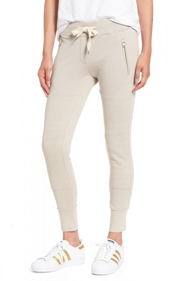 \'Lux\' Skinny Cotton Jogger Pants
