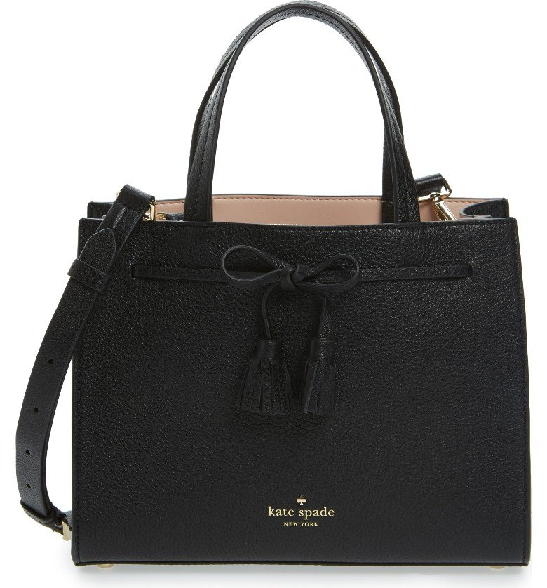 hayes street small isobel leather satchel