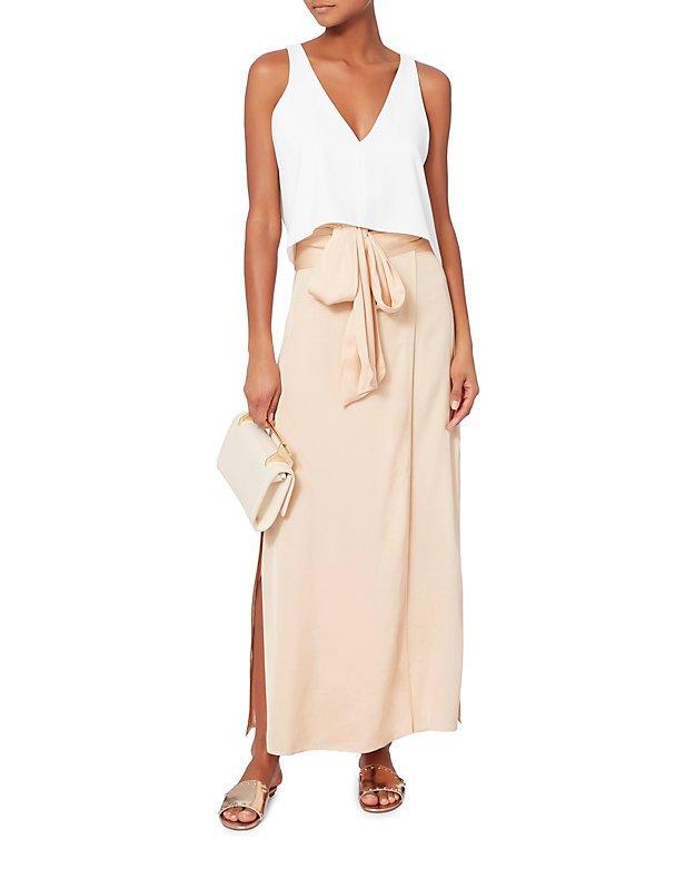 Almeria Wrap Maxi Skirt