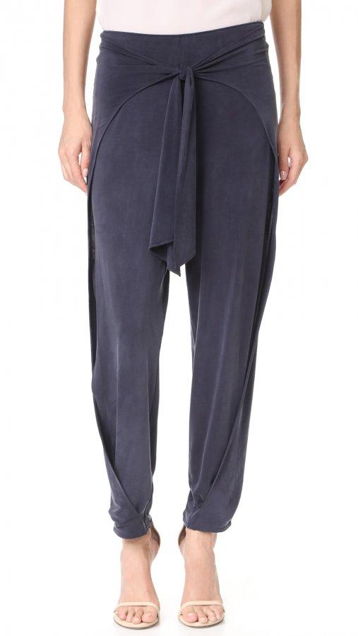 Front Tie Harem Pants
