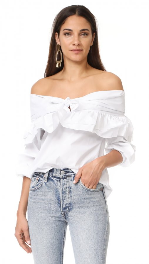 Serenade Off Shoulder Top