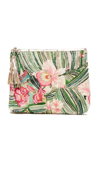 Malu Embroidered Clutch