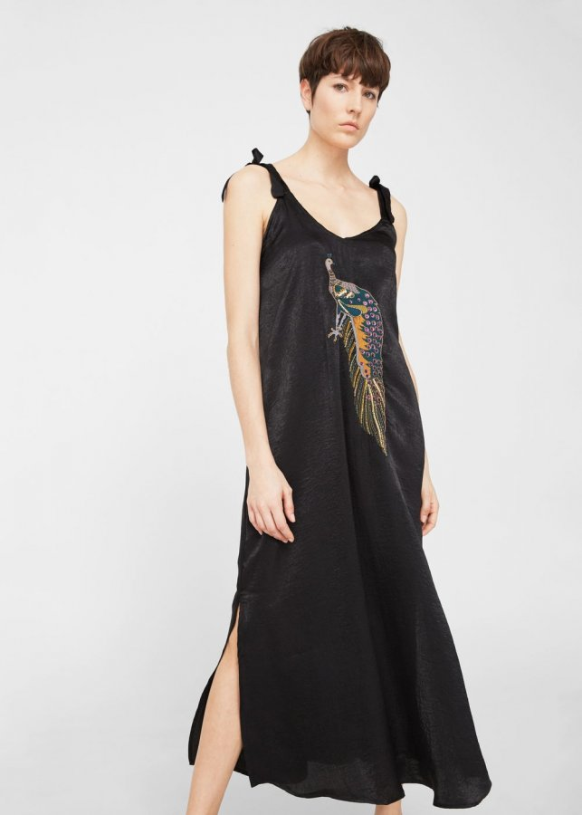 Embroidery Bead Dress