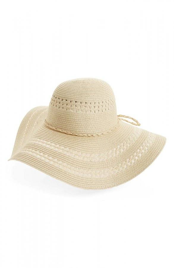 Floppy Woven Straw Hat