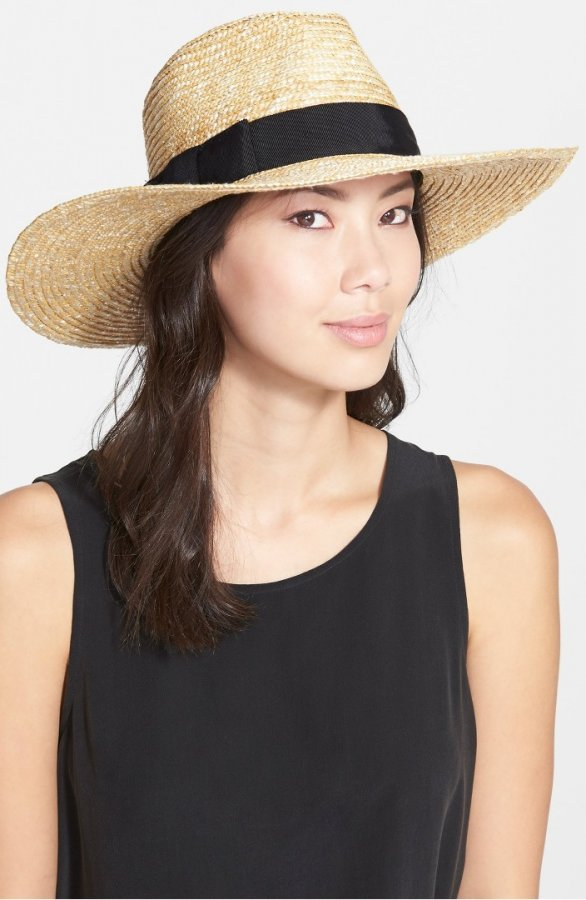 \'Joanna\' Straw Hat