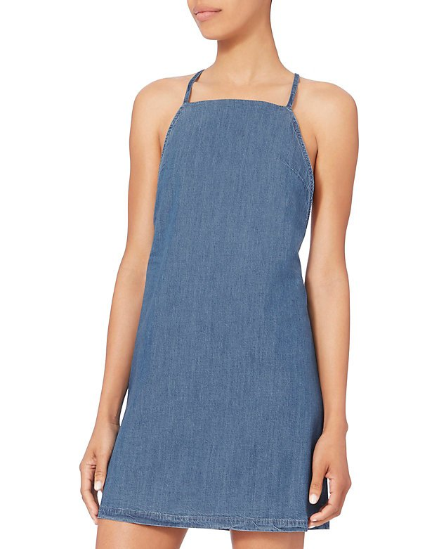 Florence Twist Denim Dress