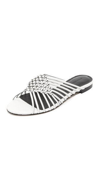 Aggie Woven Slide Sandals