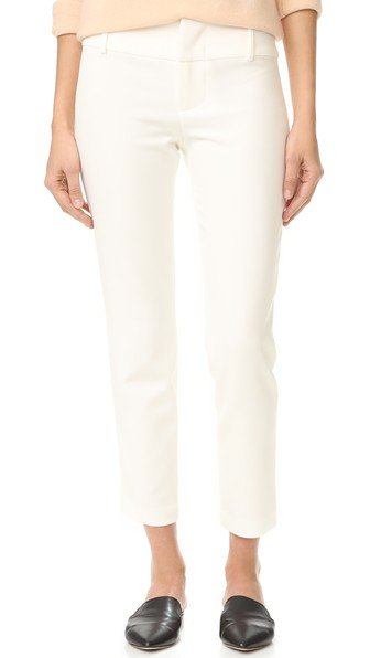Stacey Fitted Ankle Trousers