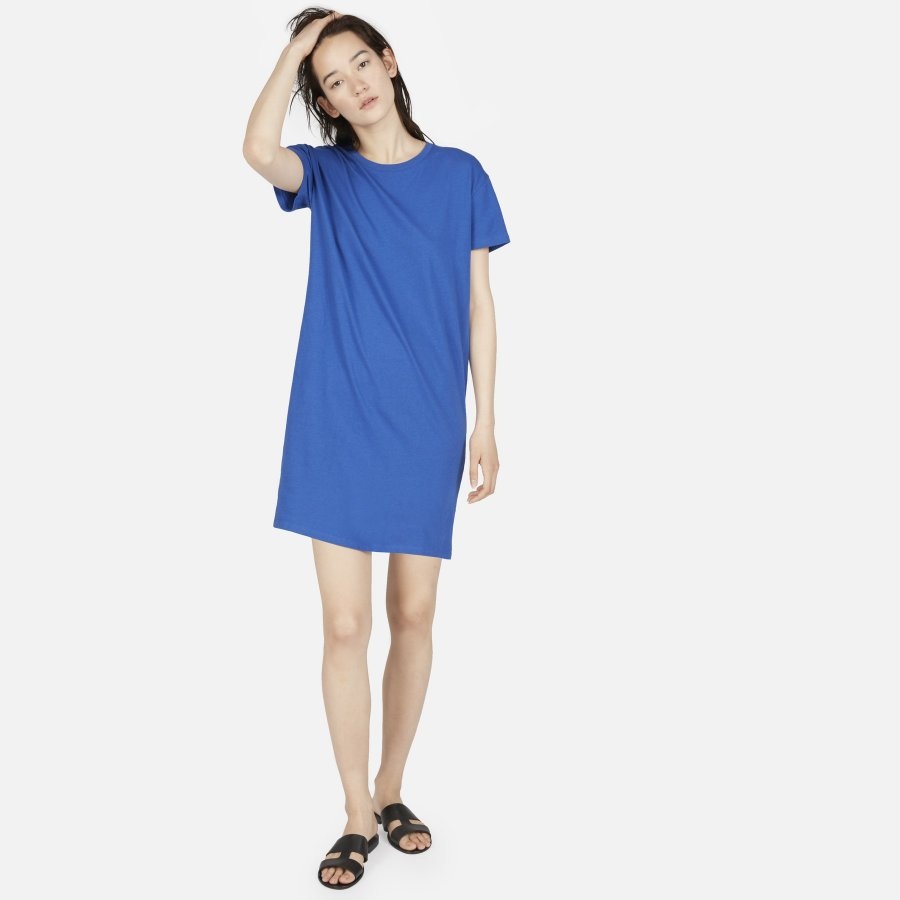 The Cotton Box-Cut Tee Dress