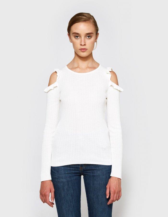 Charlie Ruffle Sweater