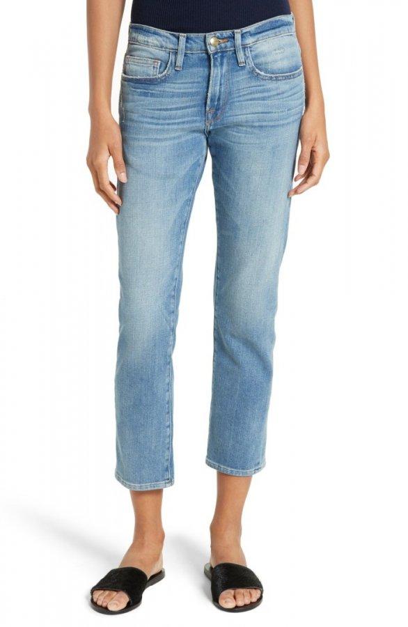 Le Boy Crop Jeans (Levine)