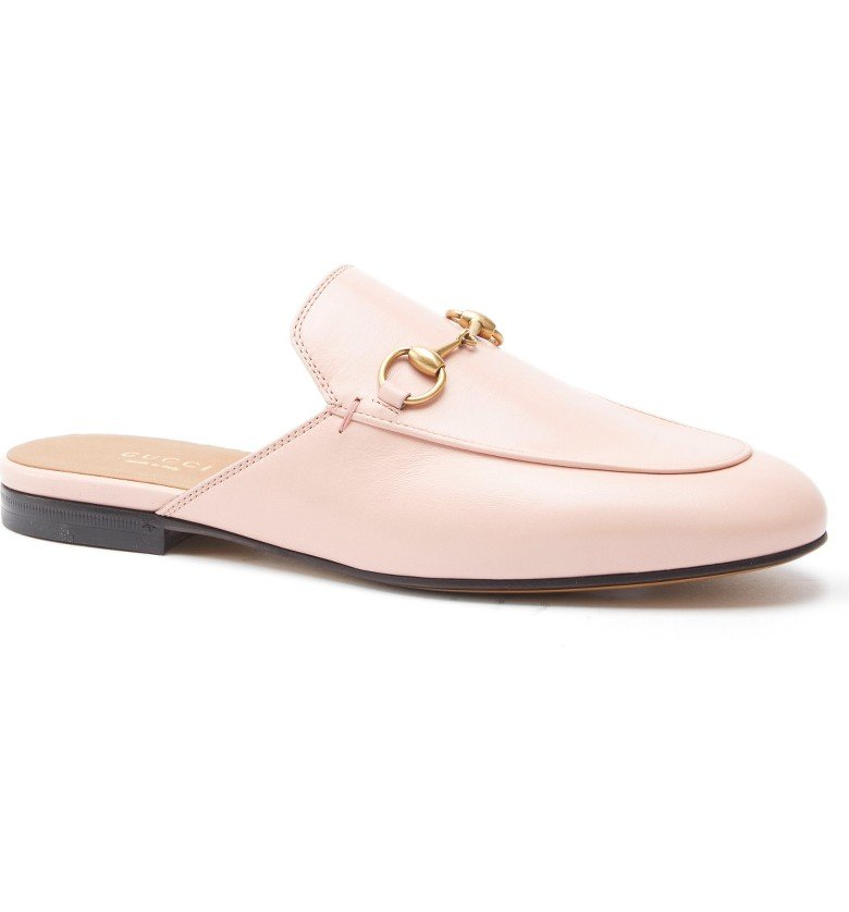 Princetown Loafer Mule - Pink