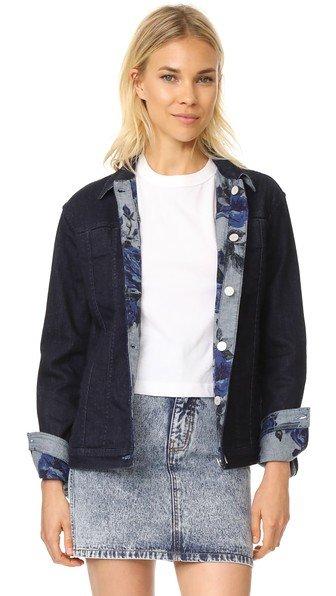 Reversible Cyra Oversize Jacket