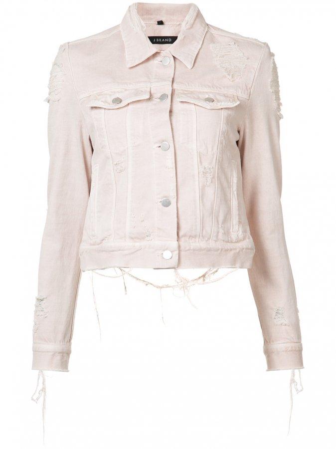 Distressed Harlow Denim Jacket