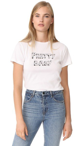x Bella Freud Pretty Baby Tee