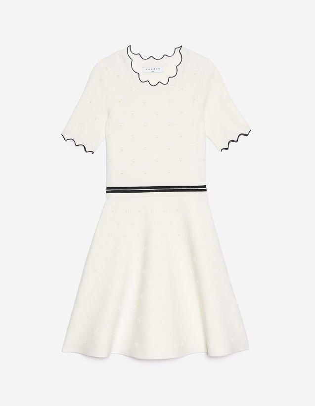 Knit Dress - Nipped-In Waist