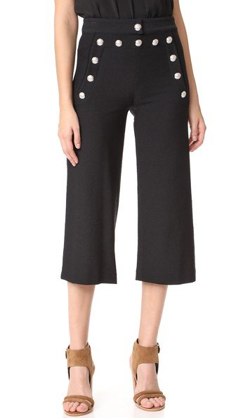 Coastal Sailor Gaucho Pants