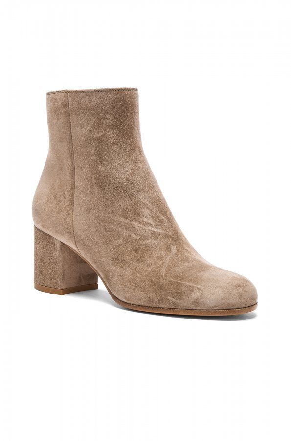 Suede Margaux Booties