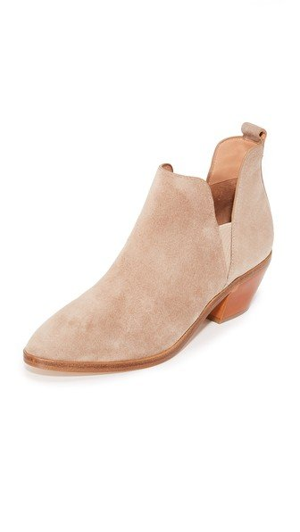 Belin Suede Booties